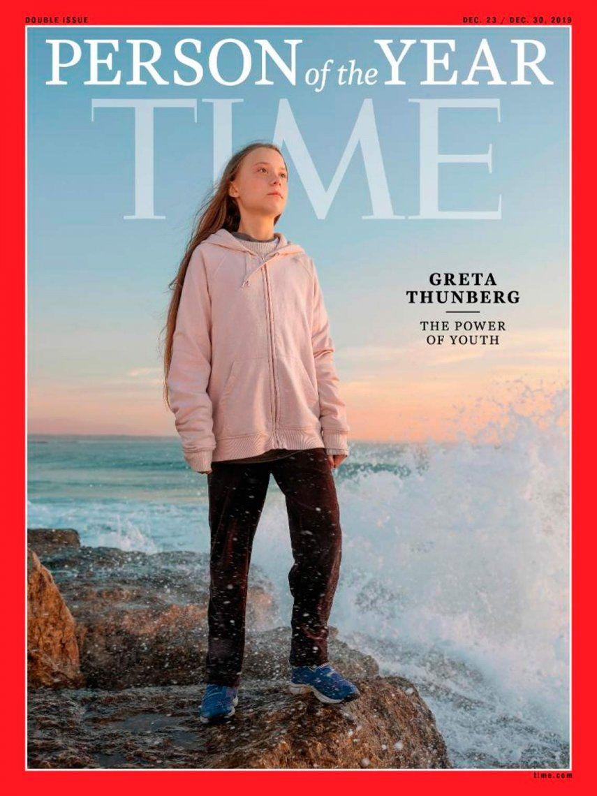 Greta Thunberg fue declarada Persona del Año por la revista Time