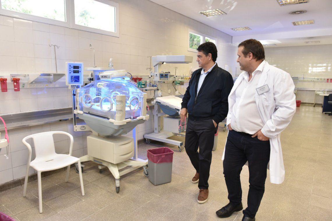Vicente López: Jorge Macri recorrió las obras de la Maternidad Santa Rosa
