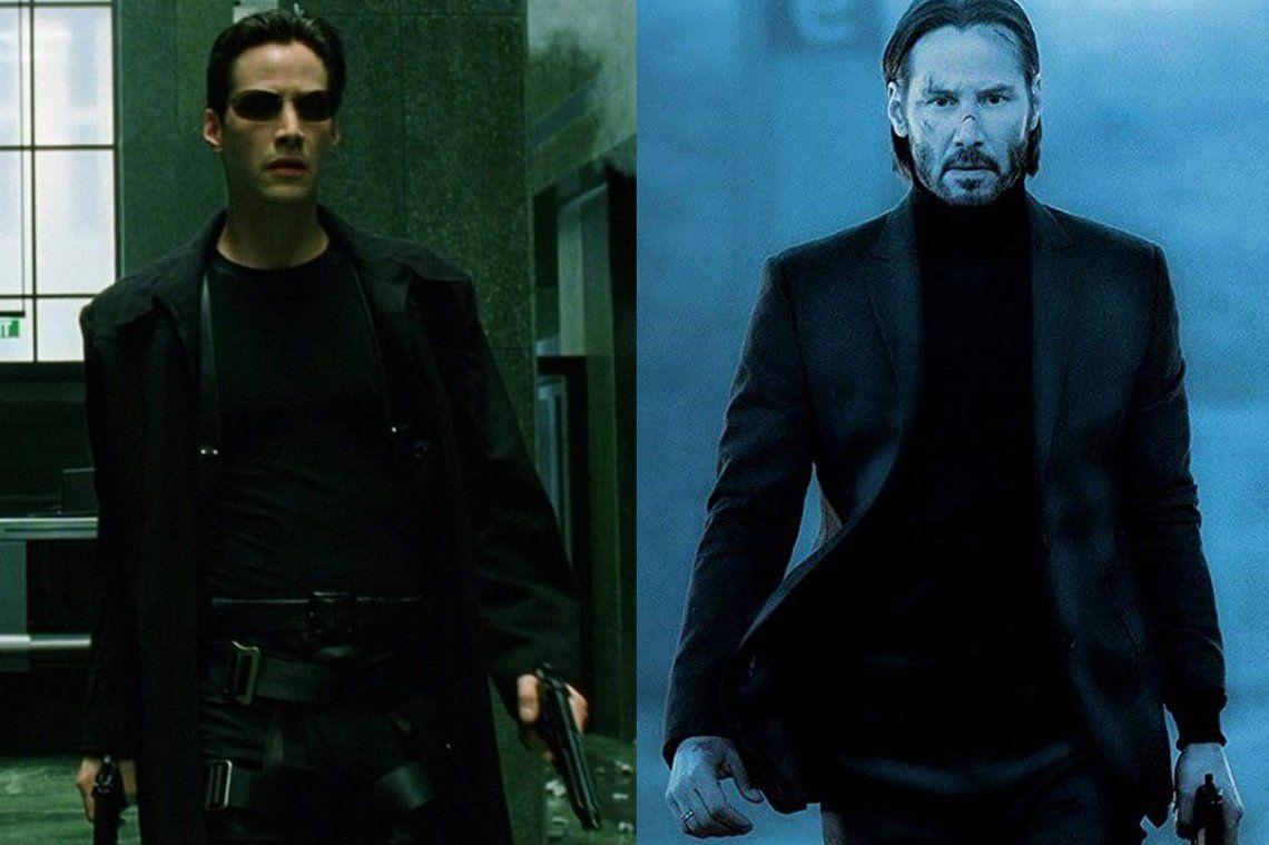 El colmo del éxito: Keanu Reeves competirá contra sí mismo cuando se estrenen John Wick 4 y The Matrix 4
