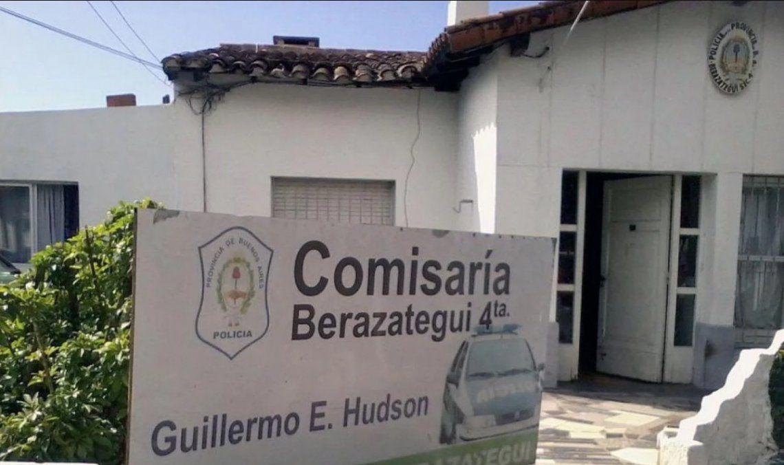 El escándalo policial sacudió al personal de la seccional policial de Berazategui.
