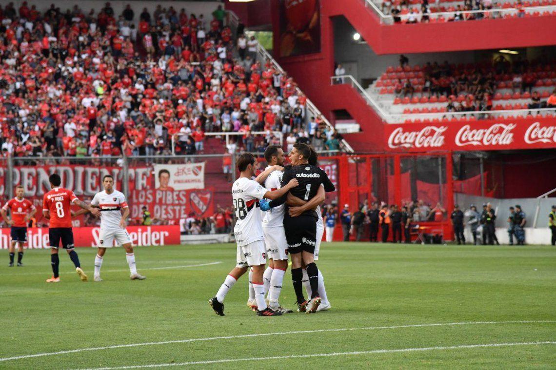 Independiente perdió ante Newells en el partido postergado de la segunda fecha