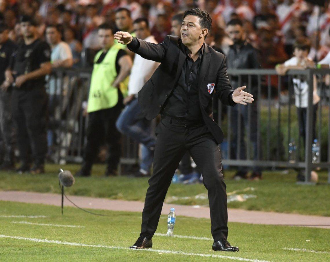 Gallardo en los festejos: Nacho Fernández no se va a ningún lado
