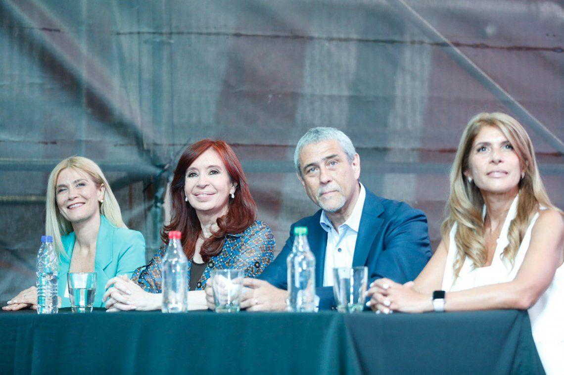 Cristina Kirchner en Avellaneda: El decreto de la doble indemnización es un acto de justicia