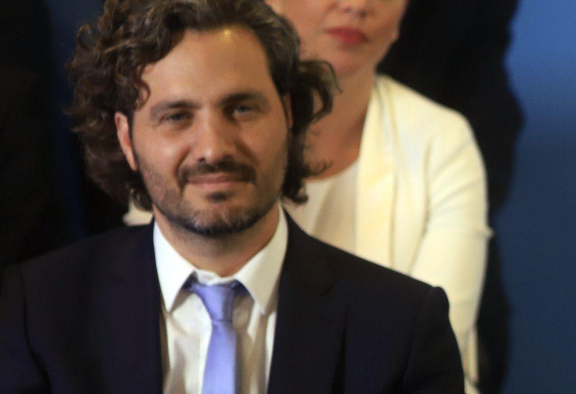 Santiago Cafiero señaló que no quedará congelado el cuadro tarifario