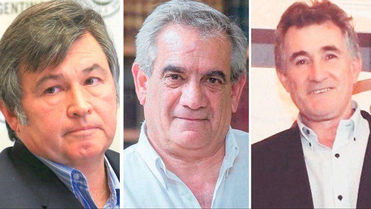 Daniel Pelegrina, Carlos Iannizzotto y Carlos Achetoni se mostraron contrarios al aumento de las retenciones