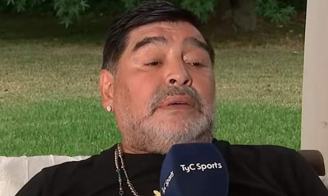 DiegoMaradonagrabó un video para apoyar el autocultivo de cannabis para uso medicinal