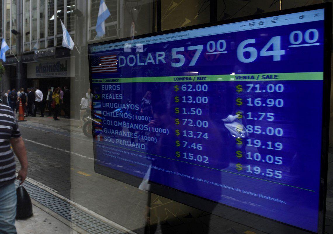 En los hechos es una devaluación porque significa que si hoy el dólar oficial está a $ 63 con esta medida se pagaría $ 83