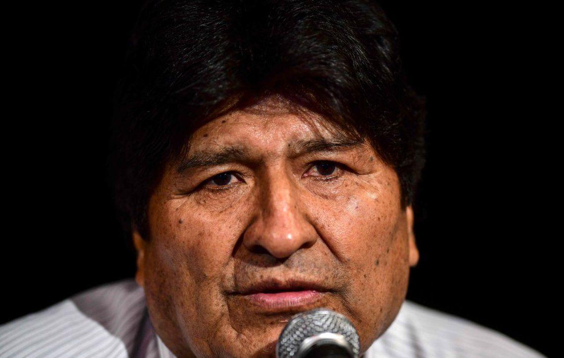 La fiscalía boliviana pide la aprehensión de Evo Morales