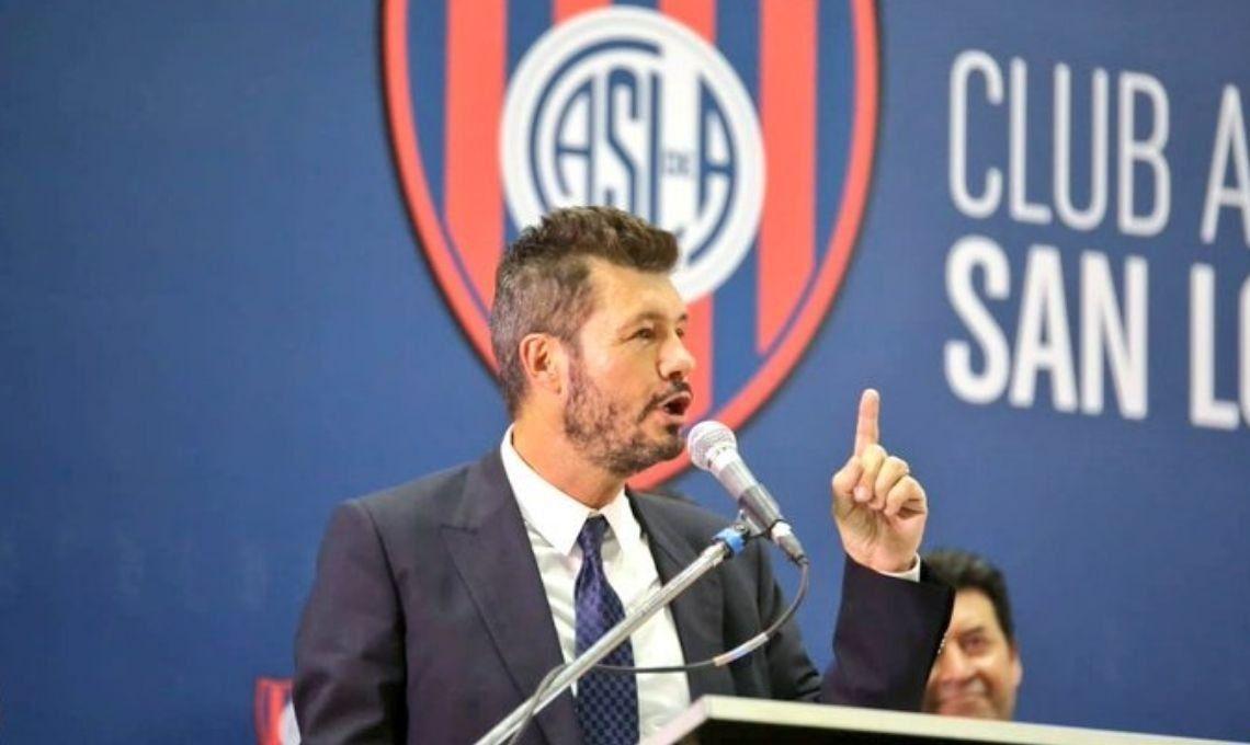 Marcelo Tinelli al asumir como presidente de San Lorenzo: Estoy cumpliendo un sueño