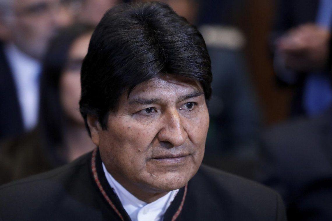 Evo Morales aseguró que continúa siendo el presidente de Bolivia