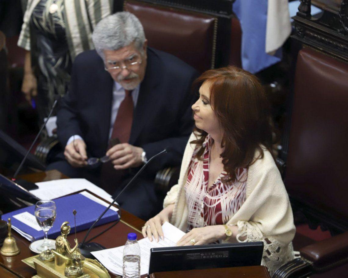 Cristina Kirchner apuntó contra Mahíques por las presiones que dijo haber recibido una jueza y señaló a Larreta