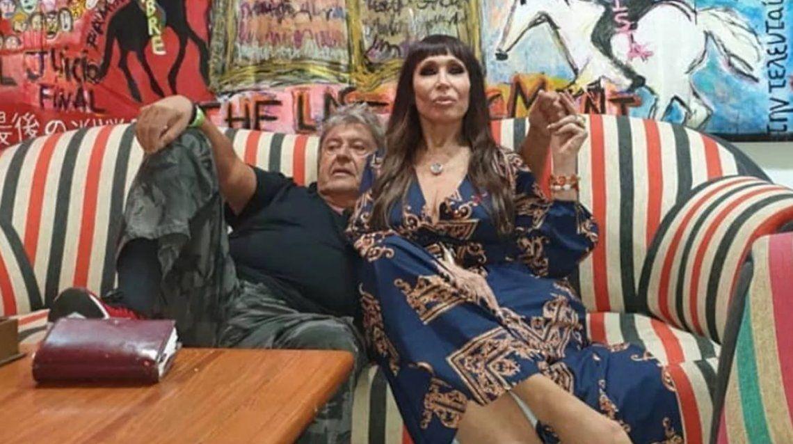 Moria Casán y Humberto Poidomani, compromiso y viaje romántico