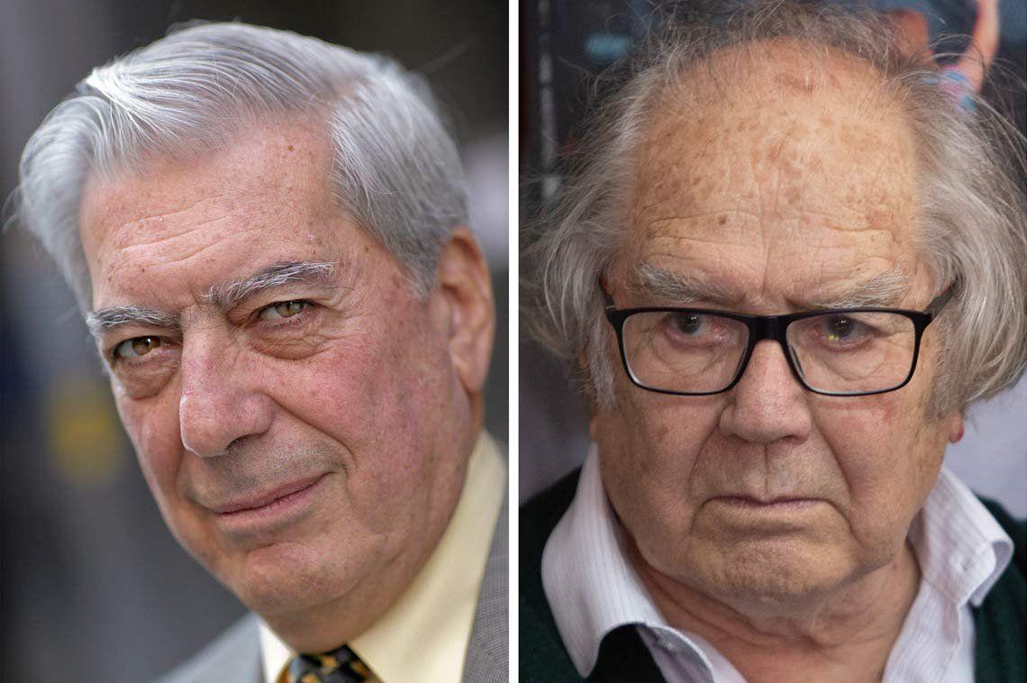 Cruce entre Mario Vargas Llosa y Adolfo Pérez Esquivel por el Presidente