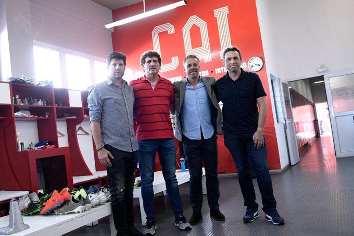 Lucas Pusineri y su primer día en Independiente: recorrió las instalaciones y ya preparan la pretemporada