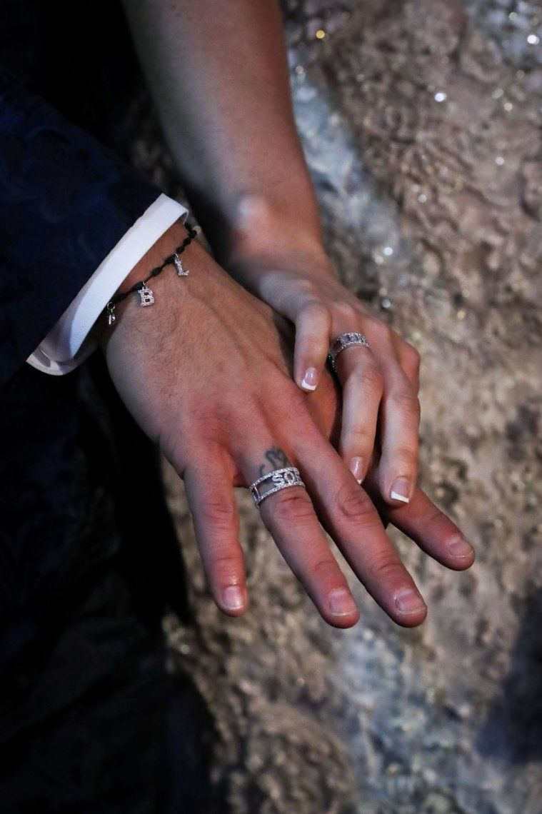 El Barcelona de gala | Las mejores imágenes del casamiento de Luis Suárez
