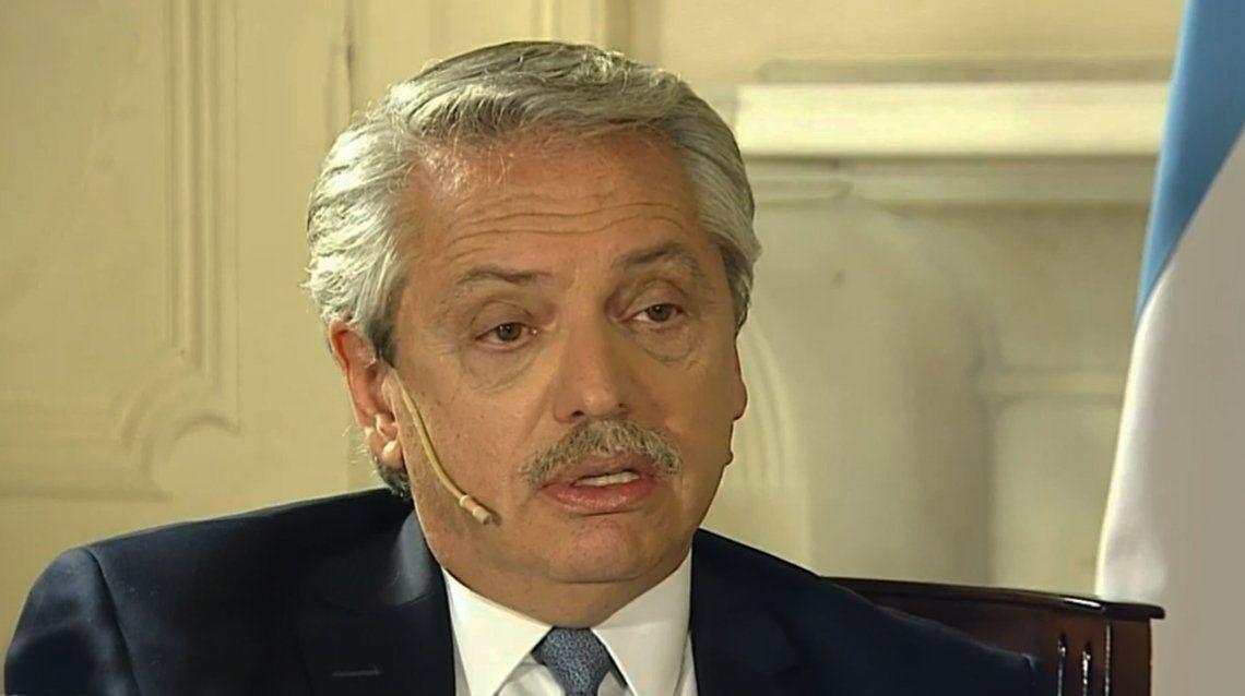 Alberto Fernández: «El ajuste está sobre los que gastan dólares en el exterior»