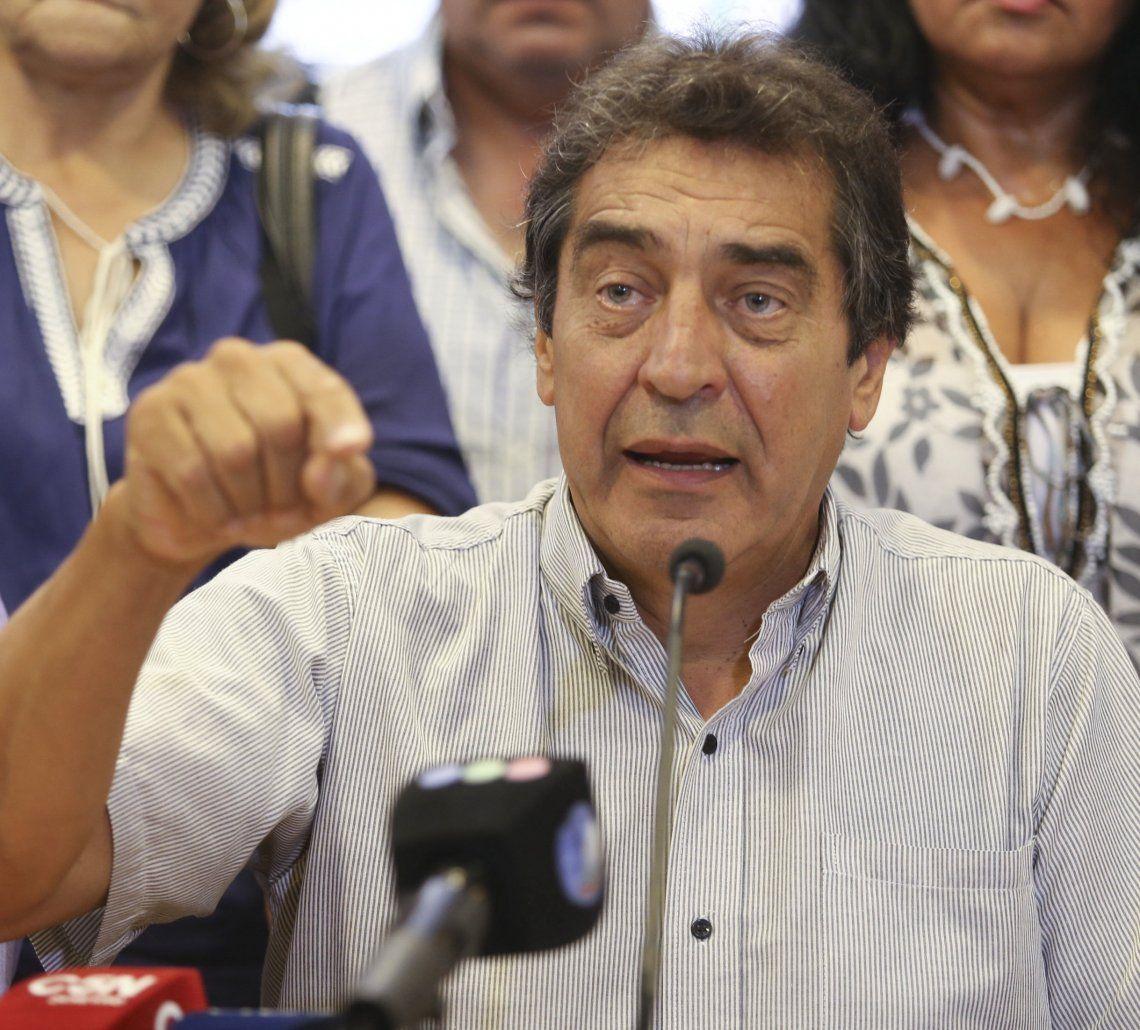 Hugo Cachorro Godoy fue recibido ayer por el jefe de Gabinete.