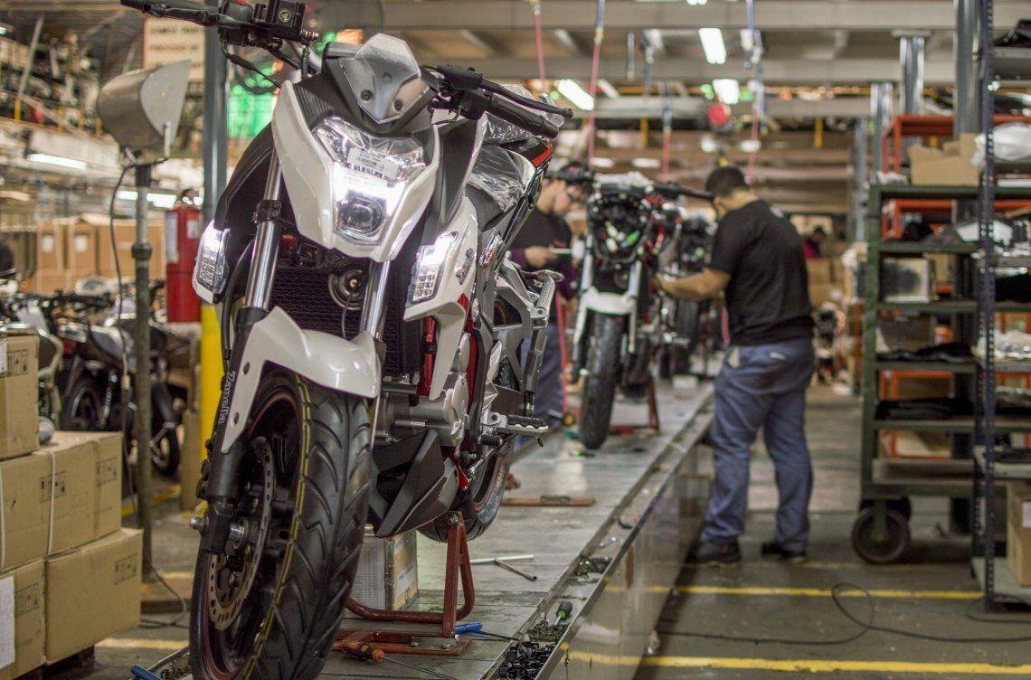 Créditos del Banco Nación para la compra de motos.