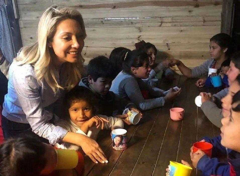 Avellaneda: Fabiola Yáñez visitó el Hospital Materno Infantil Ana Goitía