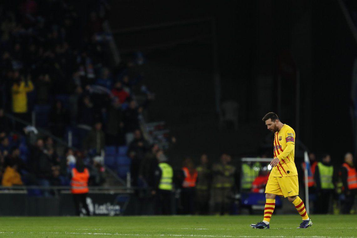 Barcelona empató con el Espanyol y ya no es puntero en soledad