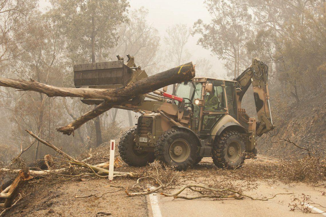 El humo de los incendios de Australia llegaría a la Argentina