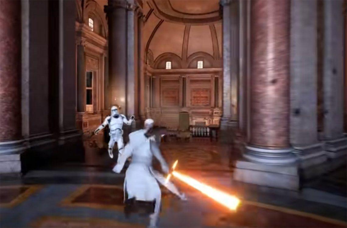 El Papa Juan Pablo II llegó al universo de Star Wars
