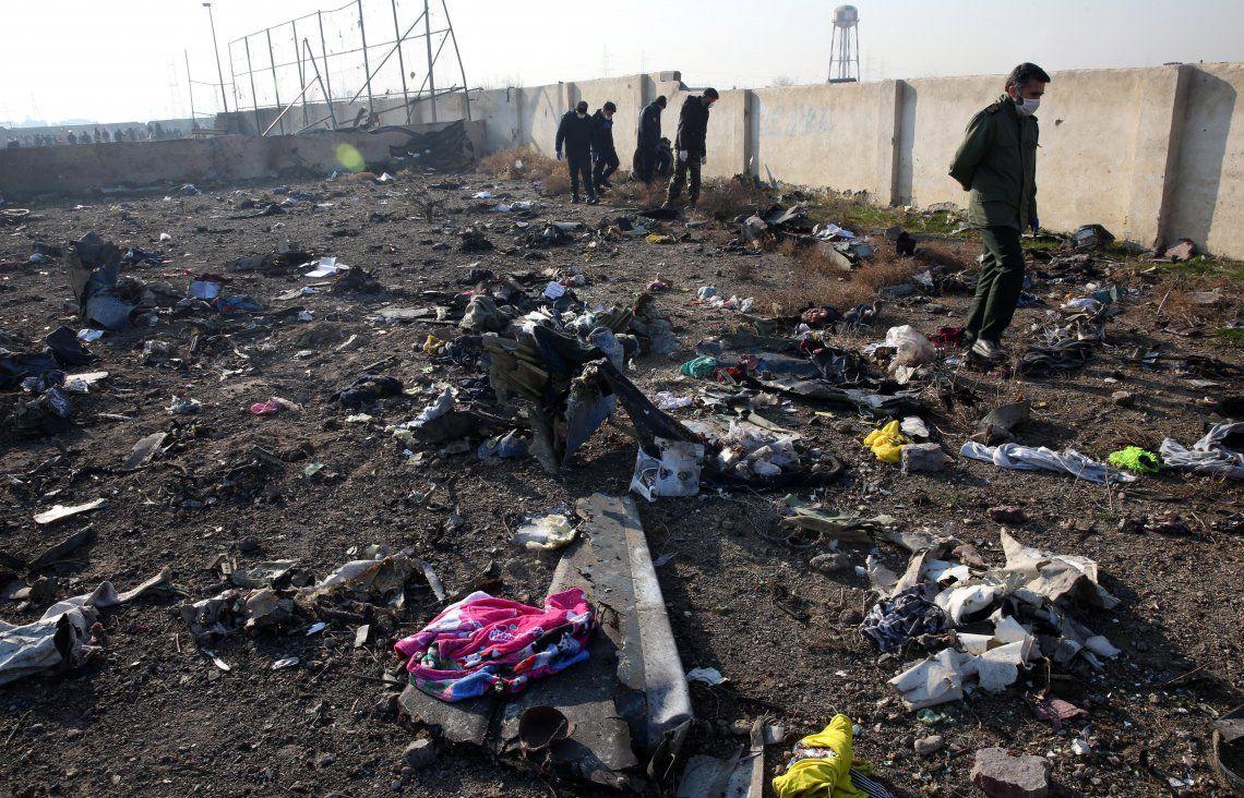 Video  | Así fue la caída del avión ucraniano en Irán