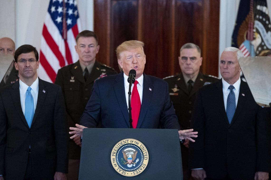 Donald Trump: Nuestras fuerzas de seguridad están preparadas para todo