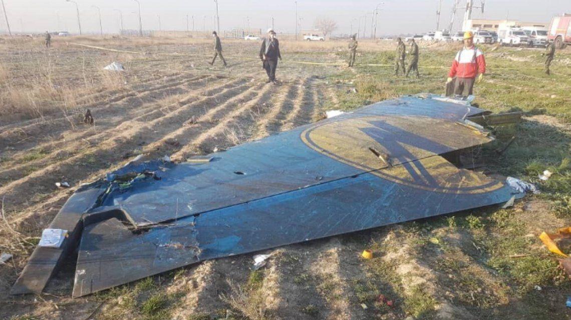 Irán reconoció que involuntariamente derribó el avión ucraniano