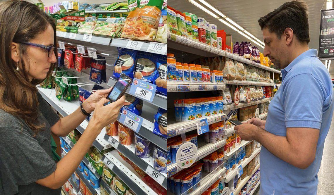 Ministros visitaron supermercados este fin de semana para controlar el cumplimiento de los Precios Cuidados