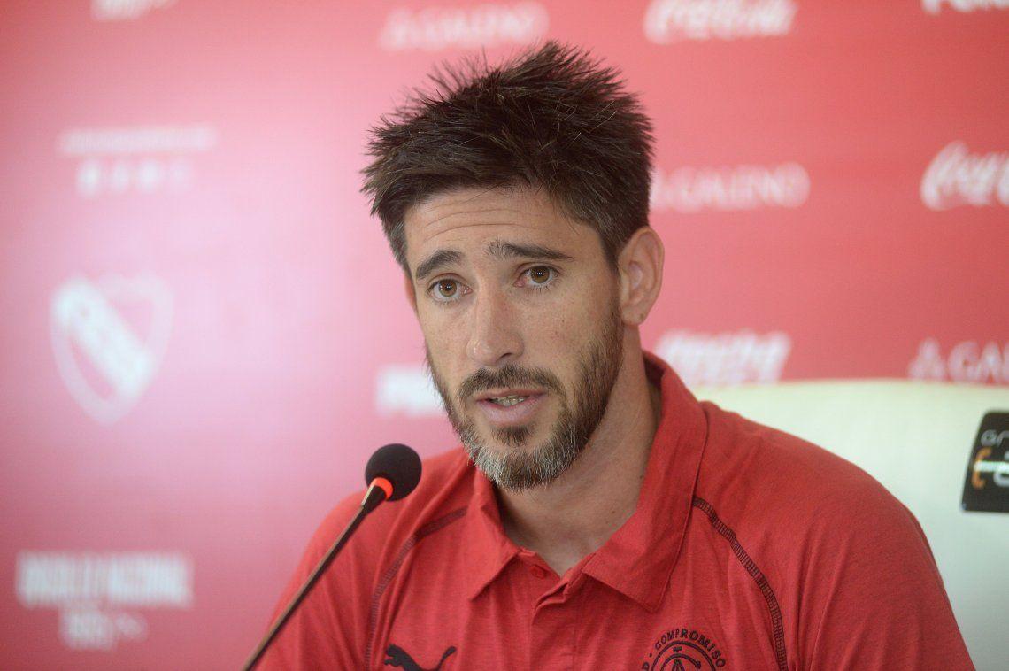 Independiente | Pablo Pérez no piensa en el partido contra River como una revancha personal