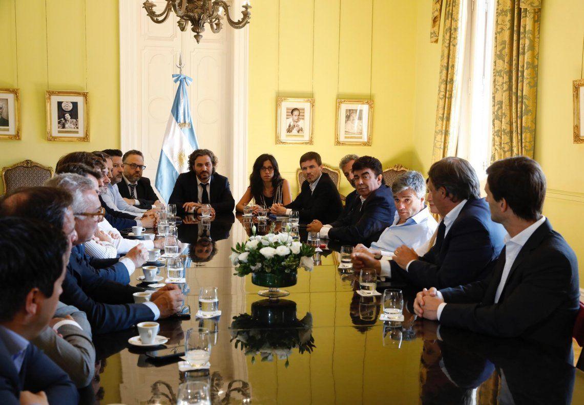 El encuentro fue encabezado por el Jefe de Gabinete