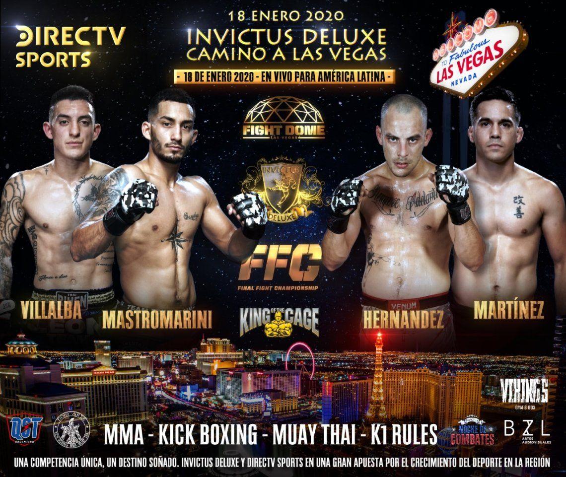 Lomas de Zamora: el MMA tendrá un apasionante cuadrangular en Banfield con los mejores luchadores de la Argentina