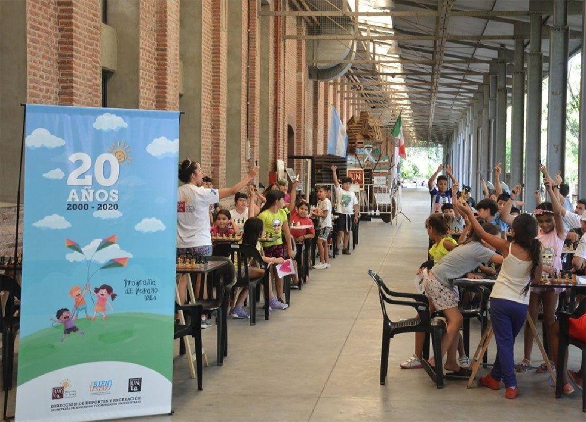 Lanús: cumple 20 años el programa Los derechos de los niños no se toman vacaciones