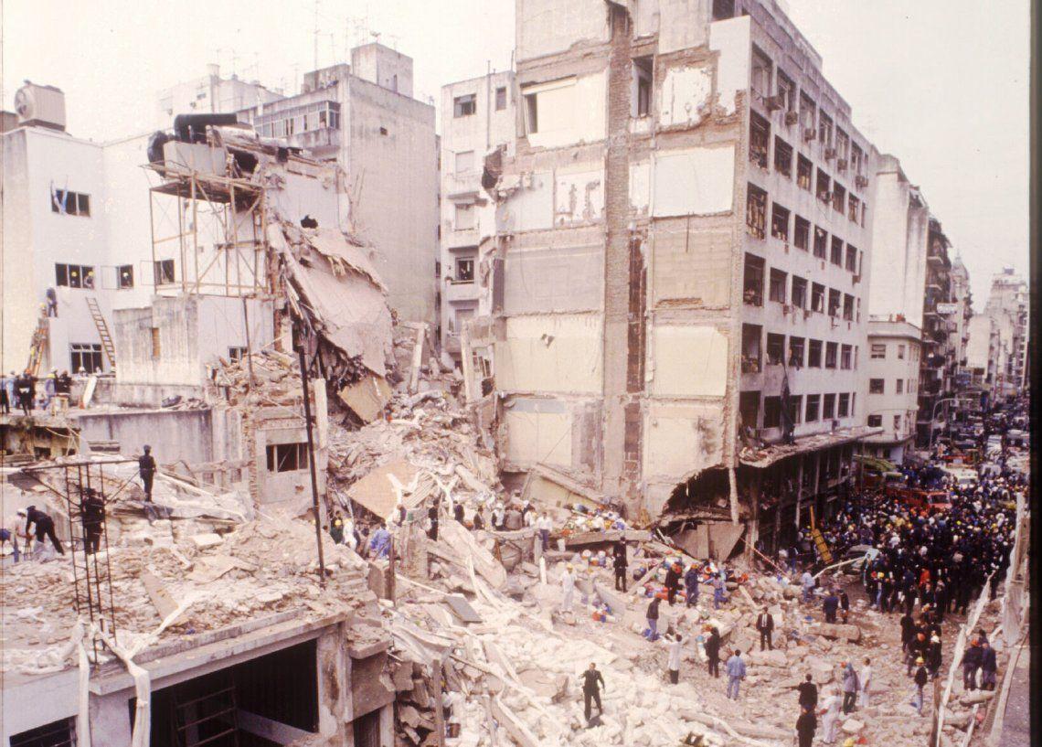 Imagen de aquel 18 de julio de 1994