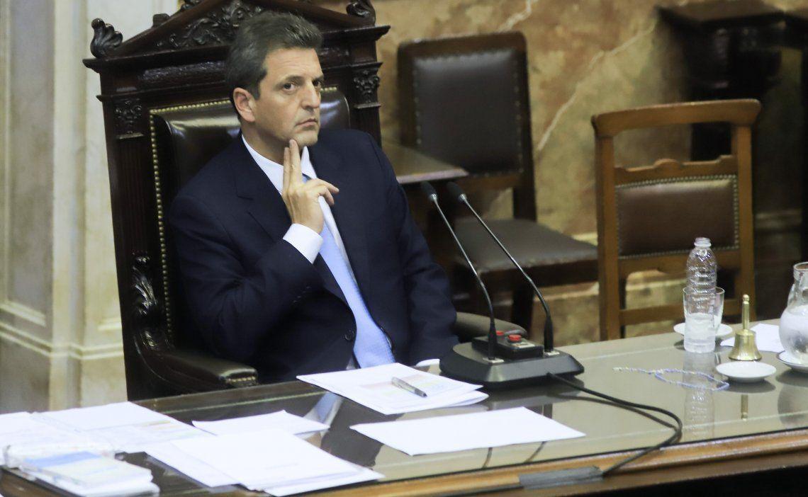 Sergio Massa asimismo analiza finalizar con las sesiones maratónicas en la Cámara de Diputados.