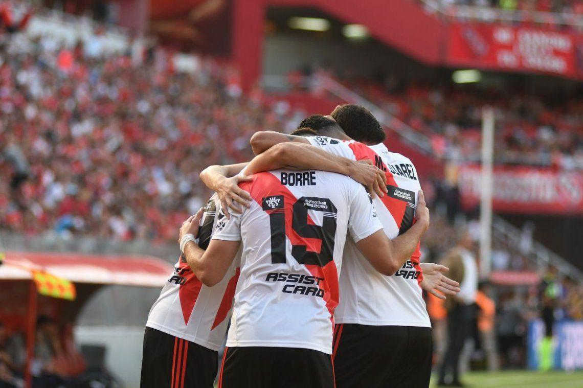 River puntero de la Superliga: los 5 protagonistas del sufrido triunfo ante Independiente