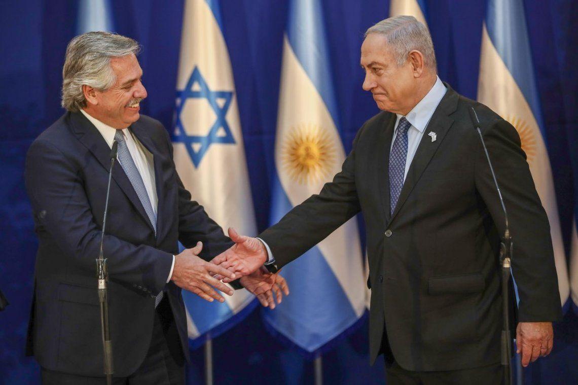 Fernández y Netanyahu se comprometieron a buscar la verdad por la AMIA