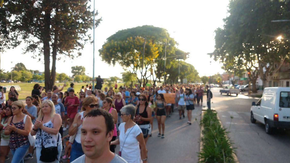 Zárate   Vecinos marcharon para limpiar la imagen de Pablo Ventura y reclamar justicia por Fernando Báez Sosa