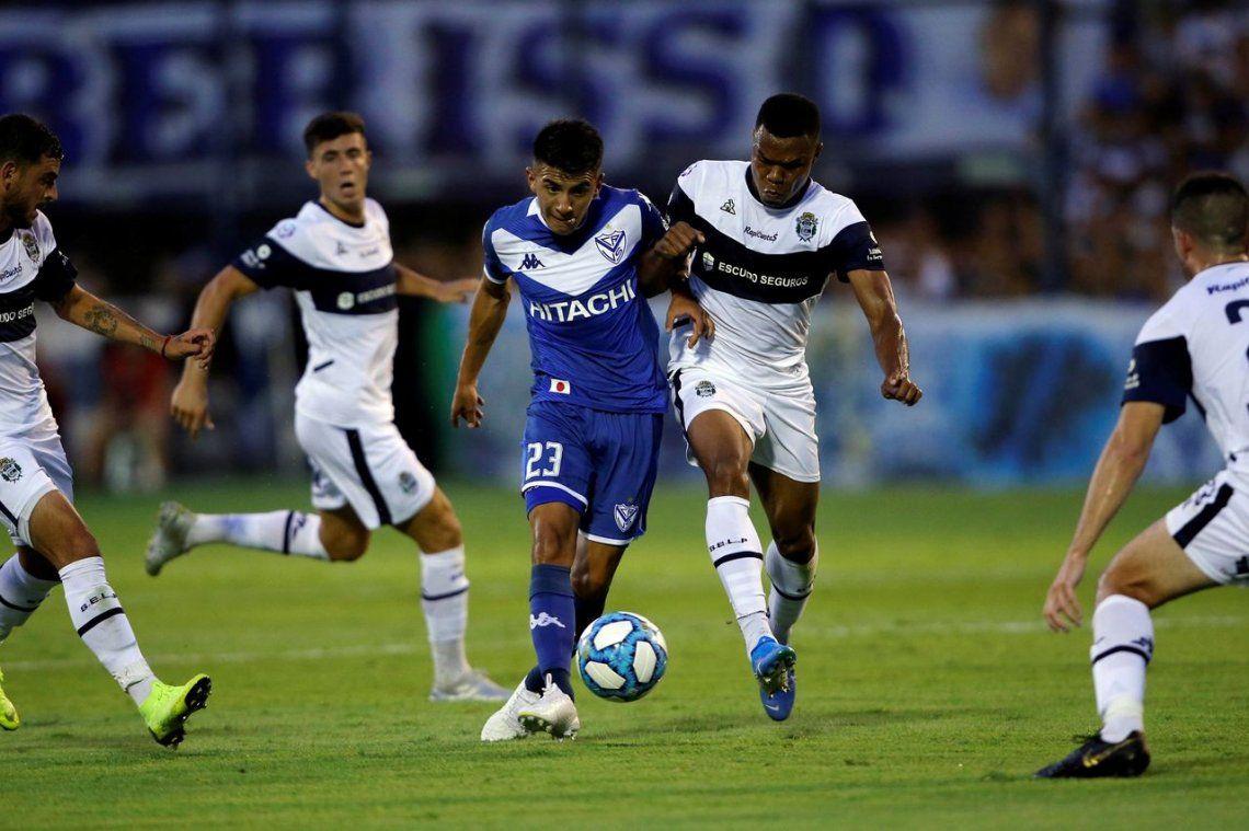 No se sacaron diferencias: Gimnasia La Plata y Vélez empataron en un partido con muchas emociones