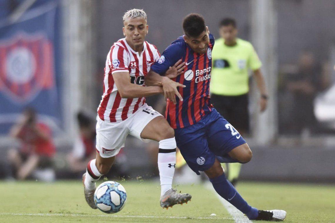 San Lorenzo y Estudiantes empataron en el retorno de Javier Mascherano