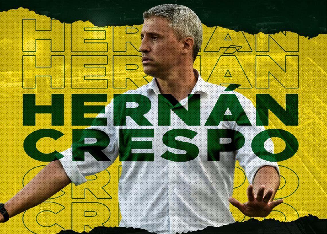 Hernán Crespo es el nuevo entrenador de Defensa y Justicia