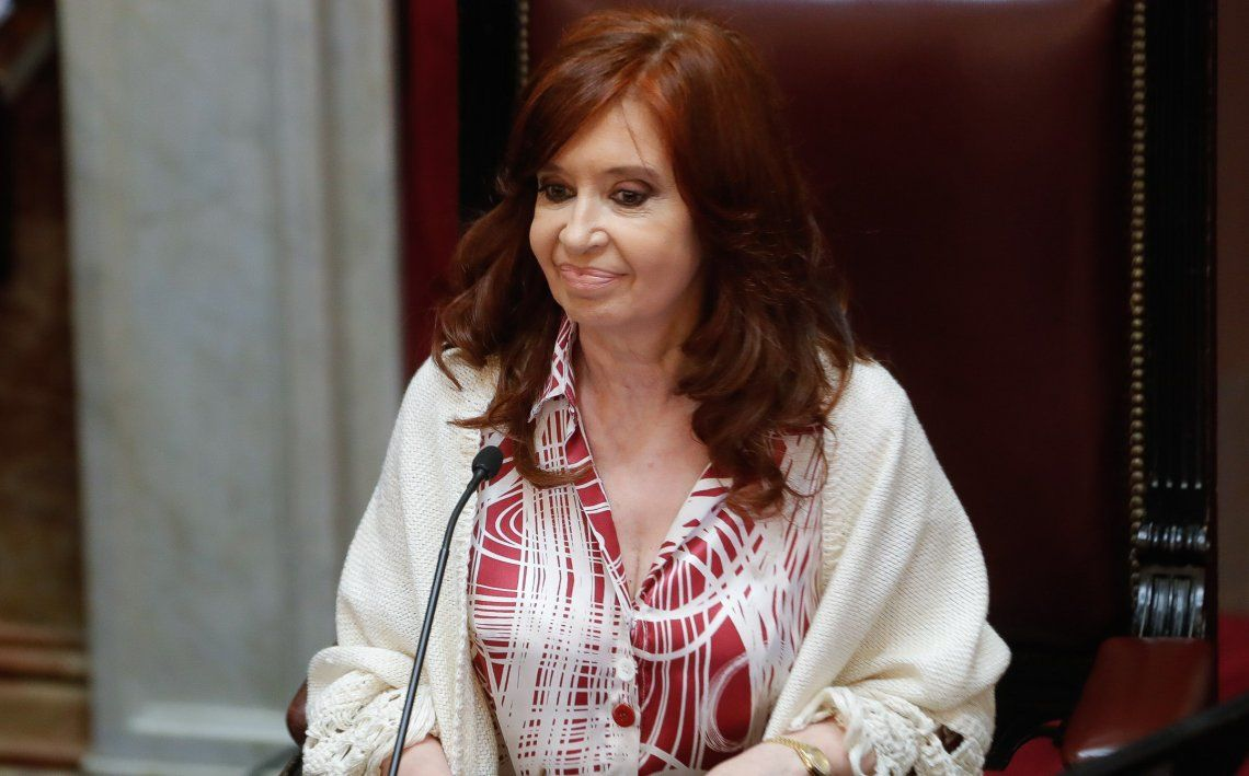 Cristina Kirchner recomendó ver conferencia de Kicillof para entender la situación en los penales