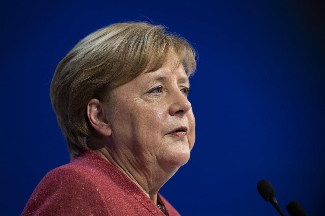 Angela Merkel contra el racismo