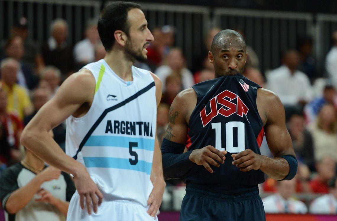 El lamento de Manu Ginobili tras conocerse la muerte de Kobe Bryant