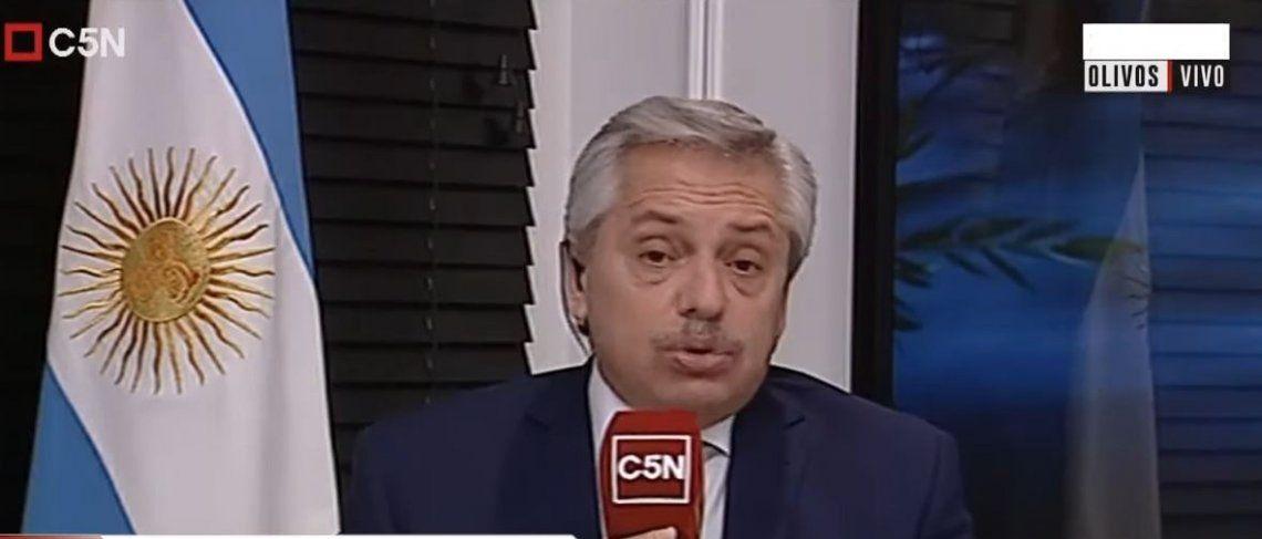Alberto Fernándezsobre Macri: Me impresionó que diga que sabía que tomar deuda haría explotar Argentina