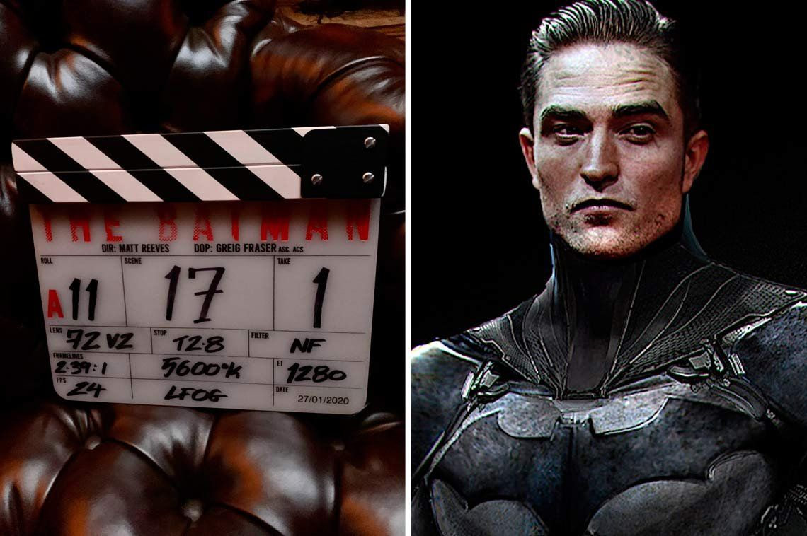 Con Robert Pattinson, comenzó el rodaje de The Batman