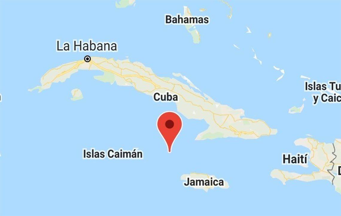 Un sismo sacudió a Cuba y a Jamaica