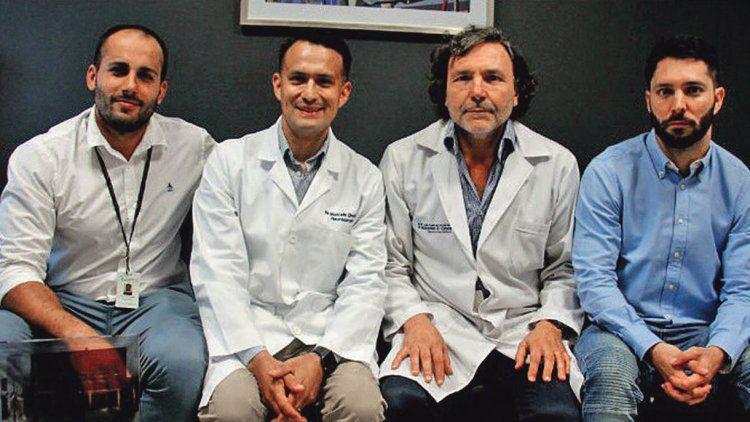 Los profesionales que dieron este importante paso adelante para la medicina correctiva.