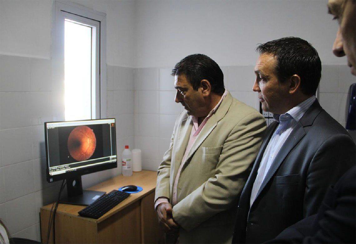Florencio Varela: nuevo retinógrafo en el centro Villa Vatteone